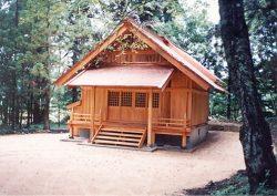 子安神社 新築工事