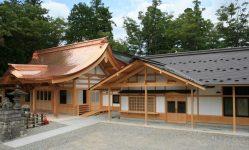 池田八幡神社平成の大改築