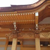 見性寺本堂 木工事