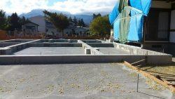 浄念寺 基礎工事