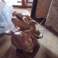 見性寺本堂 彫刻工事